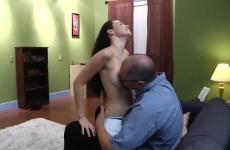 A fönök megbaszta a szexi titkárnőjét