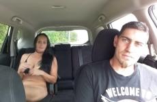 Anyut Megkellett Baszni A Kocsiban