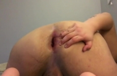 Ragazzi Gay il suo culo dita