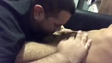 Ubriaco amico gay succhiare il mio cazzo
