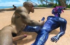 Skyrim pornó videó - számítógépes 3D meleg porno