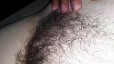 Fiatal tini szőrös puncija